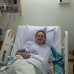 Jamie in Hospital